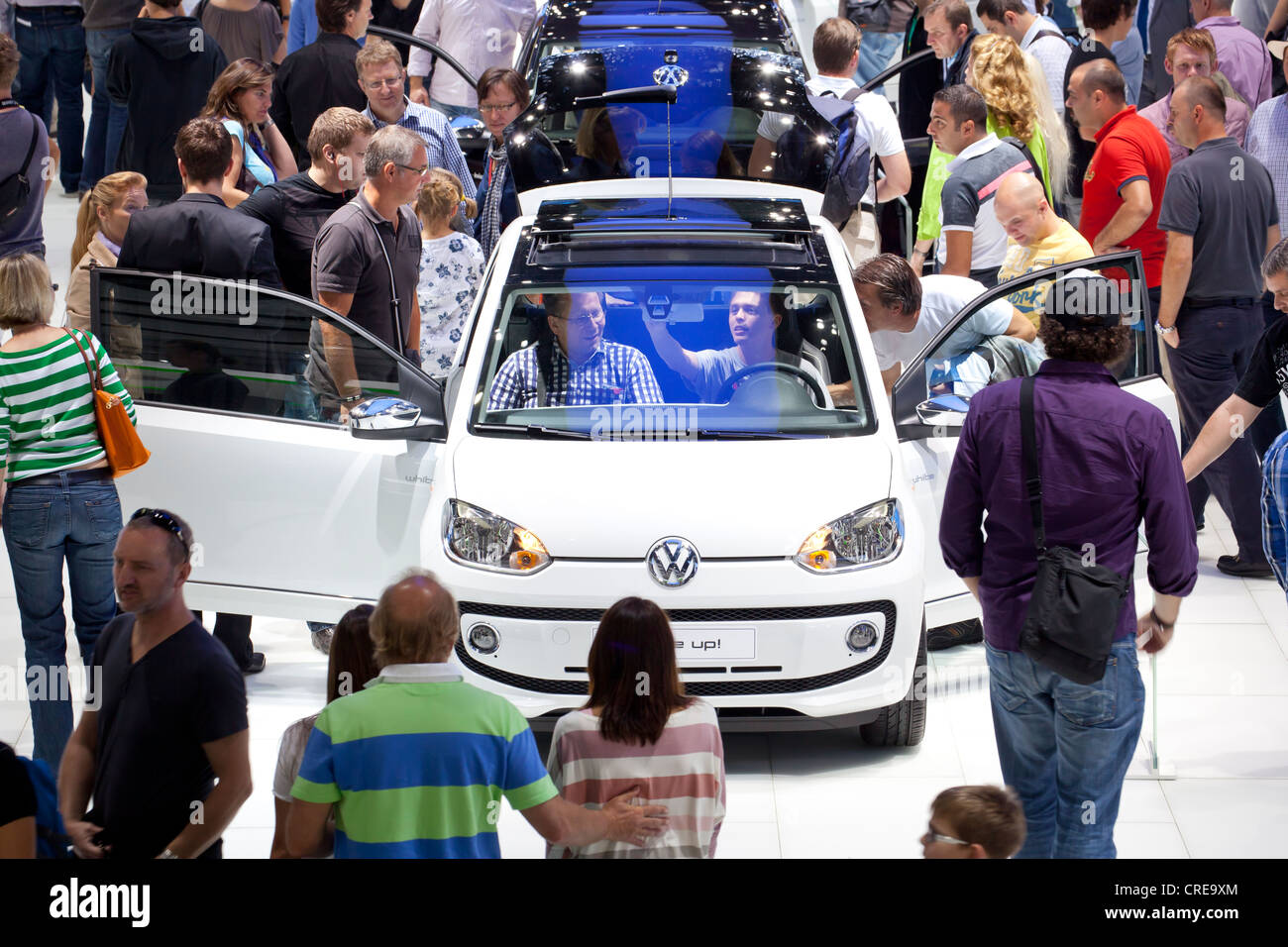 Volkswagen, VW up, 64th International Motor Show, IAA, 2011, Frankfurt am Main, Hesse, Germany, EuropeStock Photo