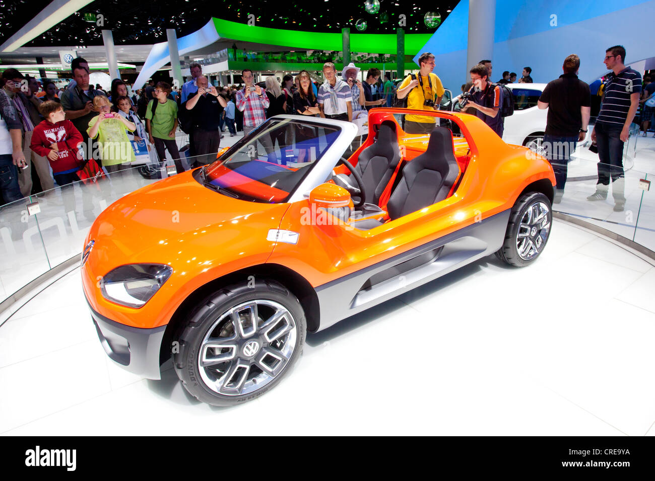 Volkswagen, VW up Buggy, 64th International Motor Show, IAA, 2011, Frankfurt am Main, Hesse, Germany, Europe - Stock Image