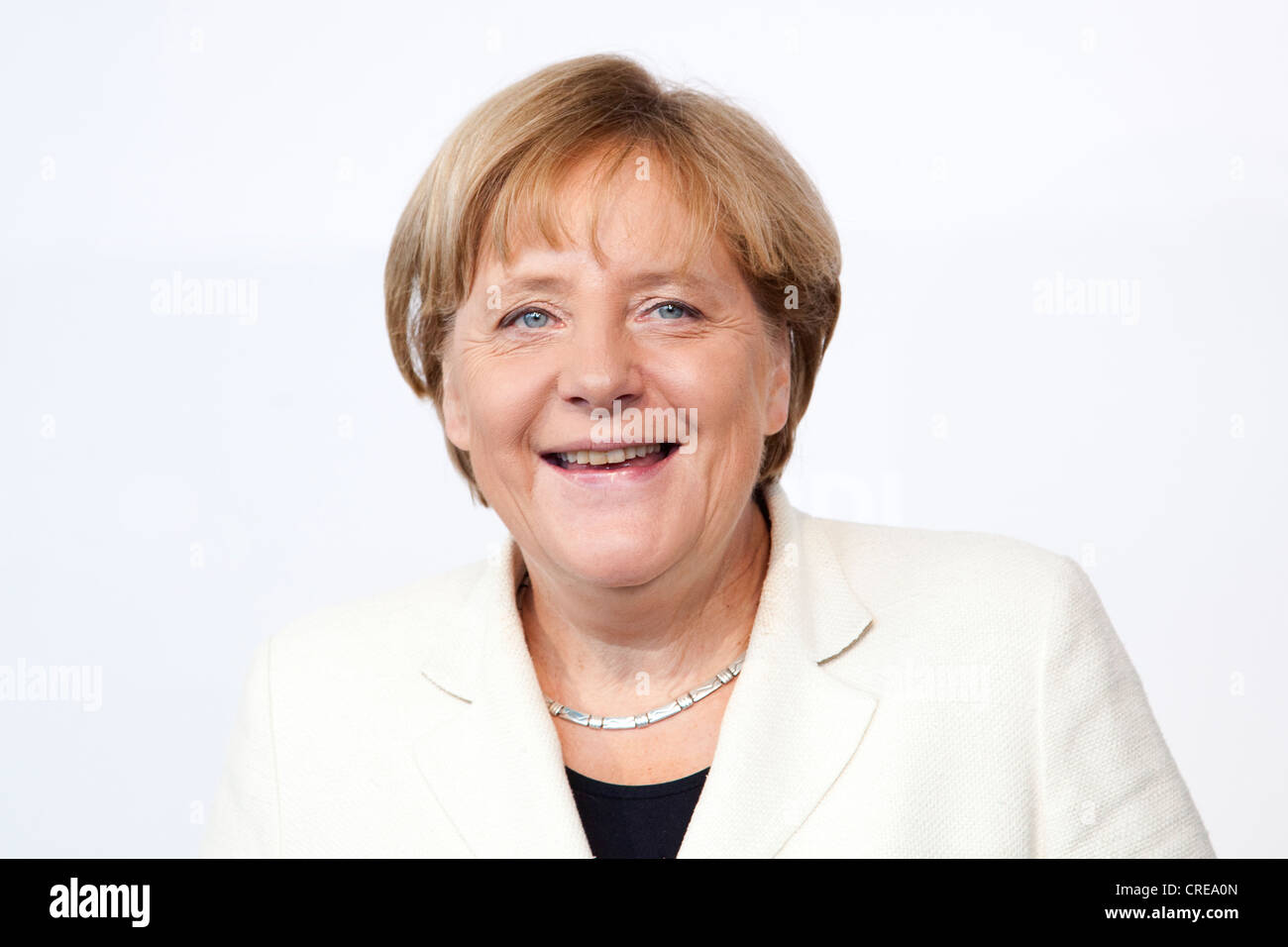 Angela Merkel, Chancellor of Germany, CDU, at BDI day of German Industry, 27 September 2011, Berlin, Germany, Europe - Stock Image