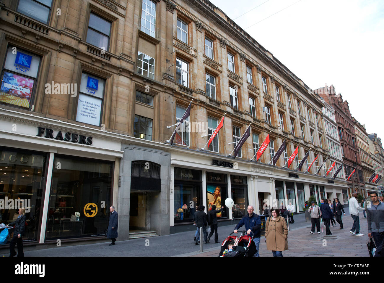 frasers house of fraser department store in glasgow scotland uk - Stock Image