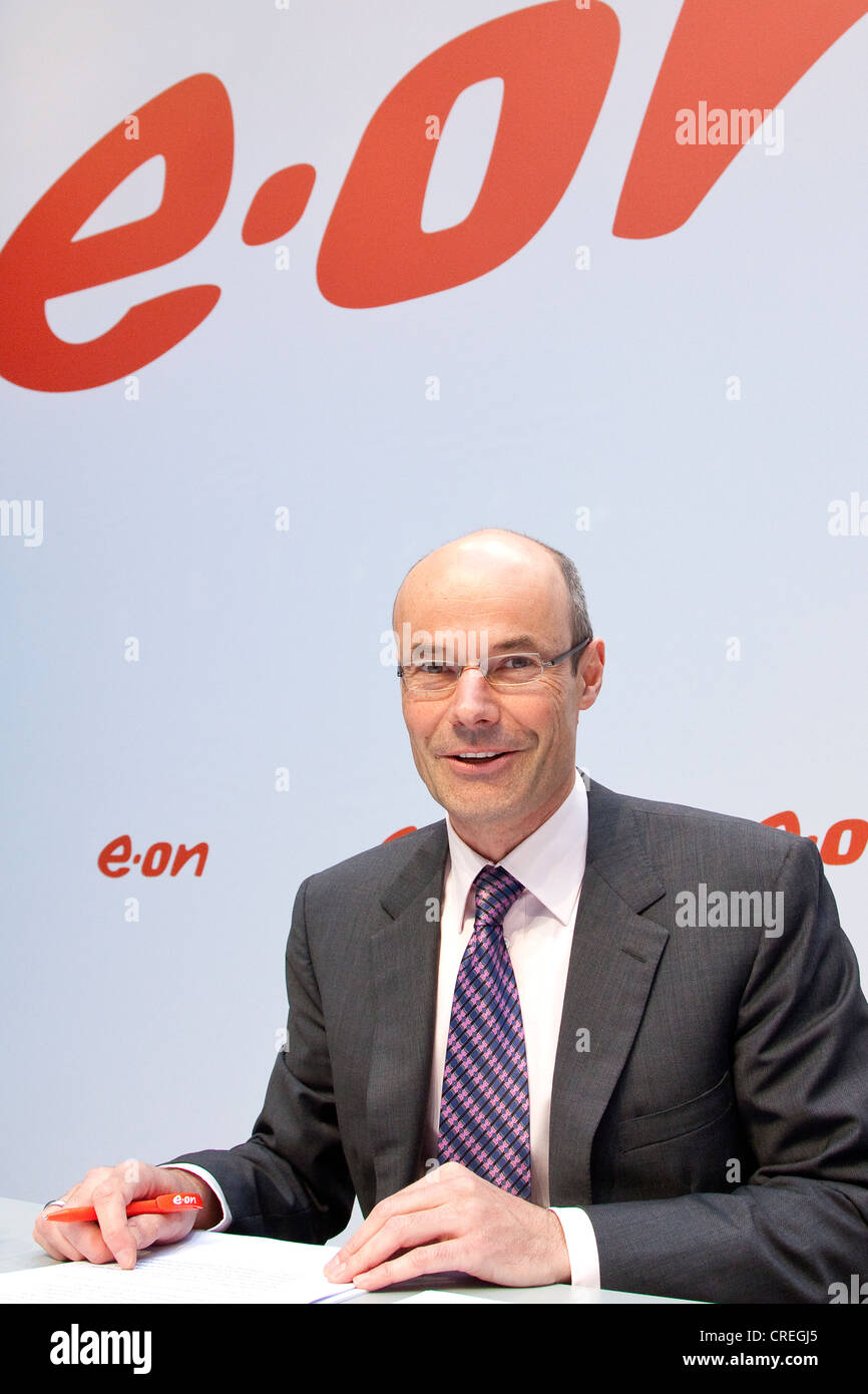 Marcus schenck chief financial officer cfo of the energy group eon stock photo 48878205 alamy - Chief financial officer cfo ...