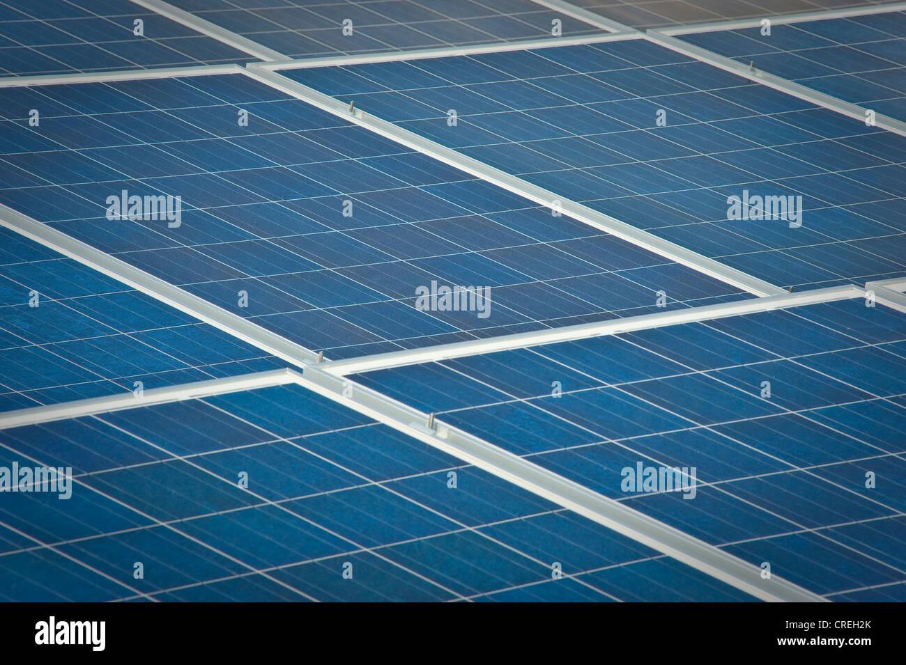 Solar Panels Detail - Stock Image