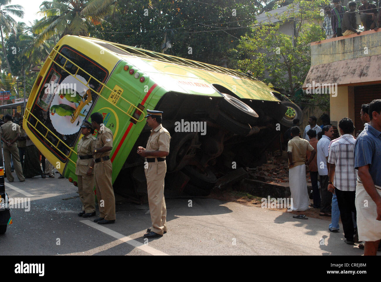 bus accident india stock photos & bus accident india stock images