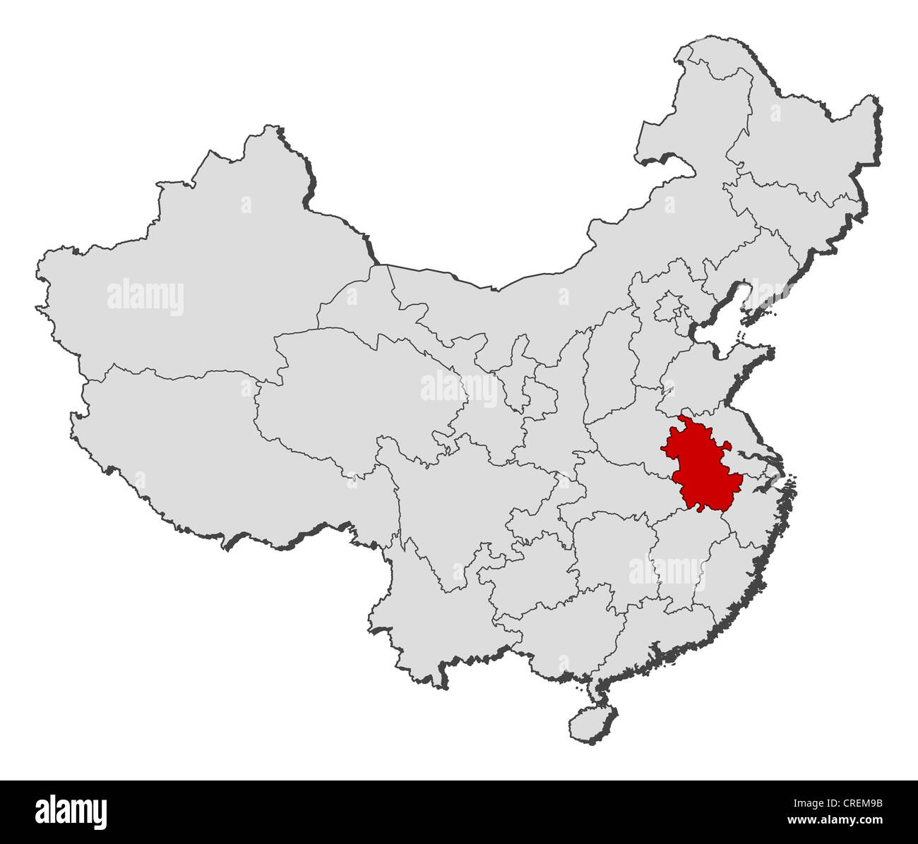 Where is anhui