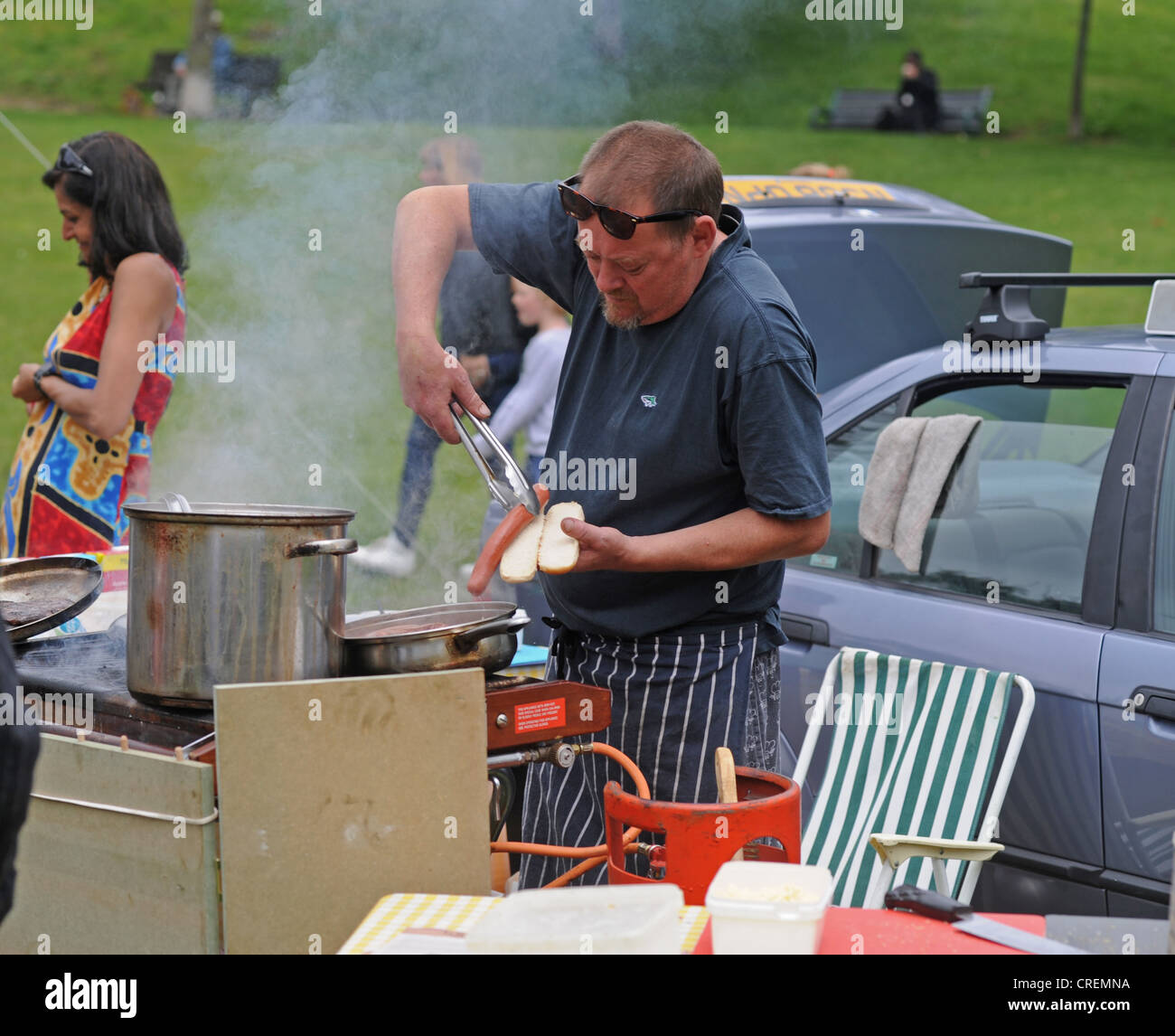 Bbq Sausage Roll Stock Photos & Bbq Sausage Roll Stock Images - Alamy