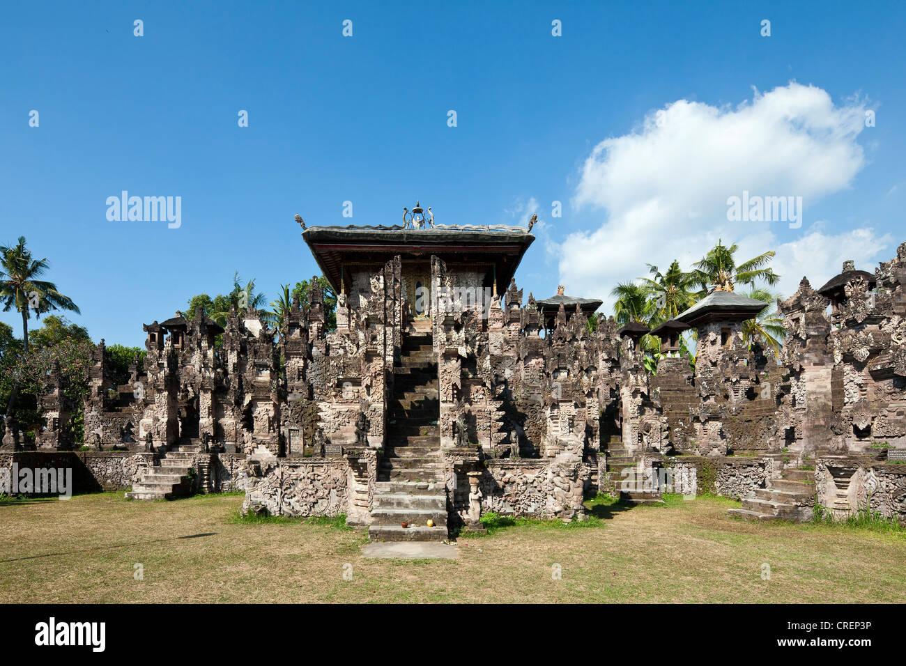 Pura Beji Temple, Sangsit, northern Bali, Bali, Indonesia, Southeast Asia - Stock Image
