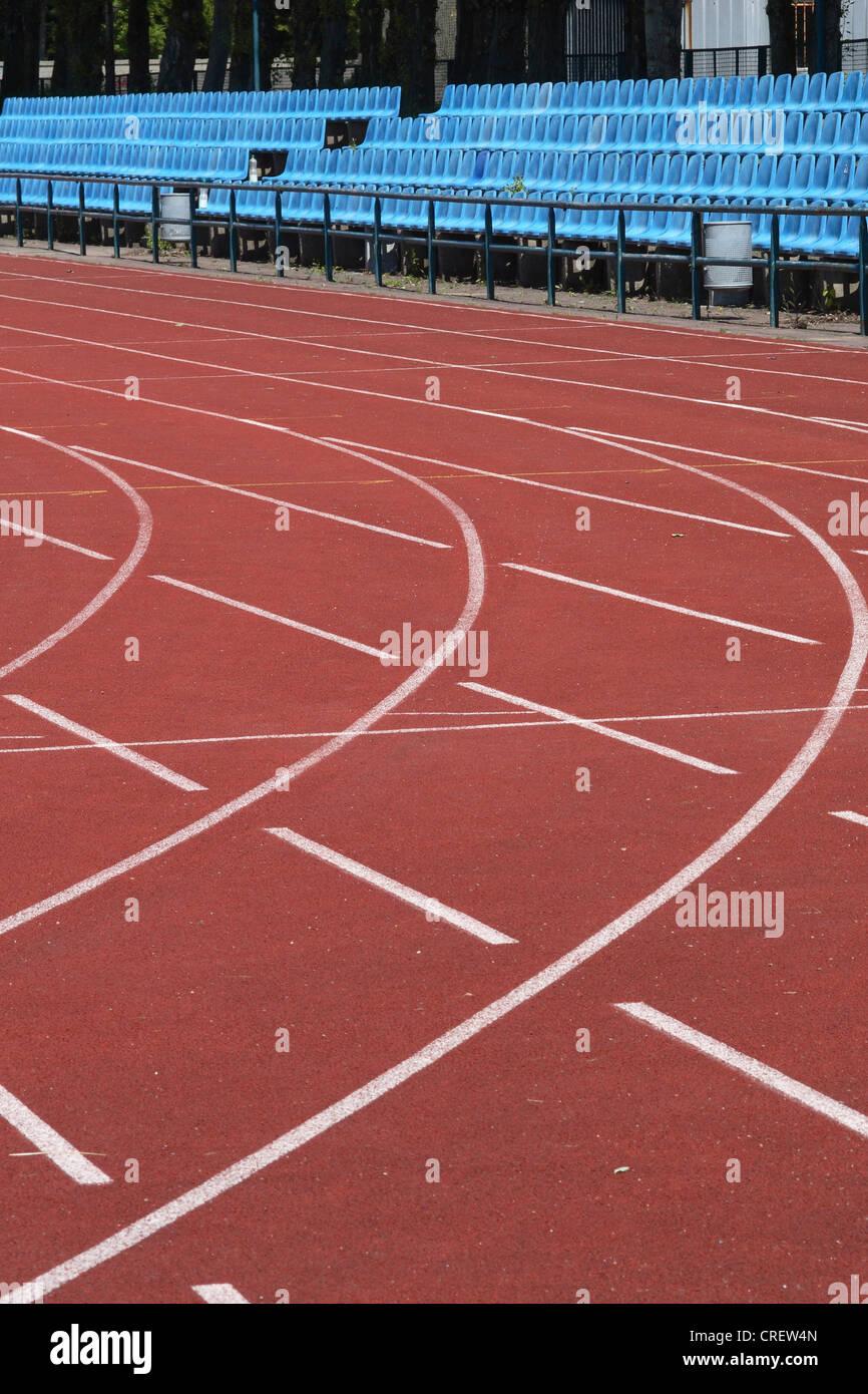 athletik stadion - Stock Image