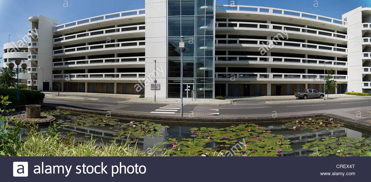 New Ocean Car Park Southampton Photographers interpitation - Stock Image