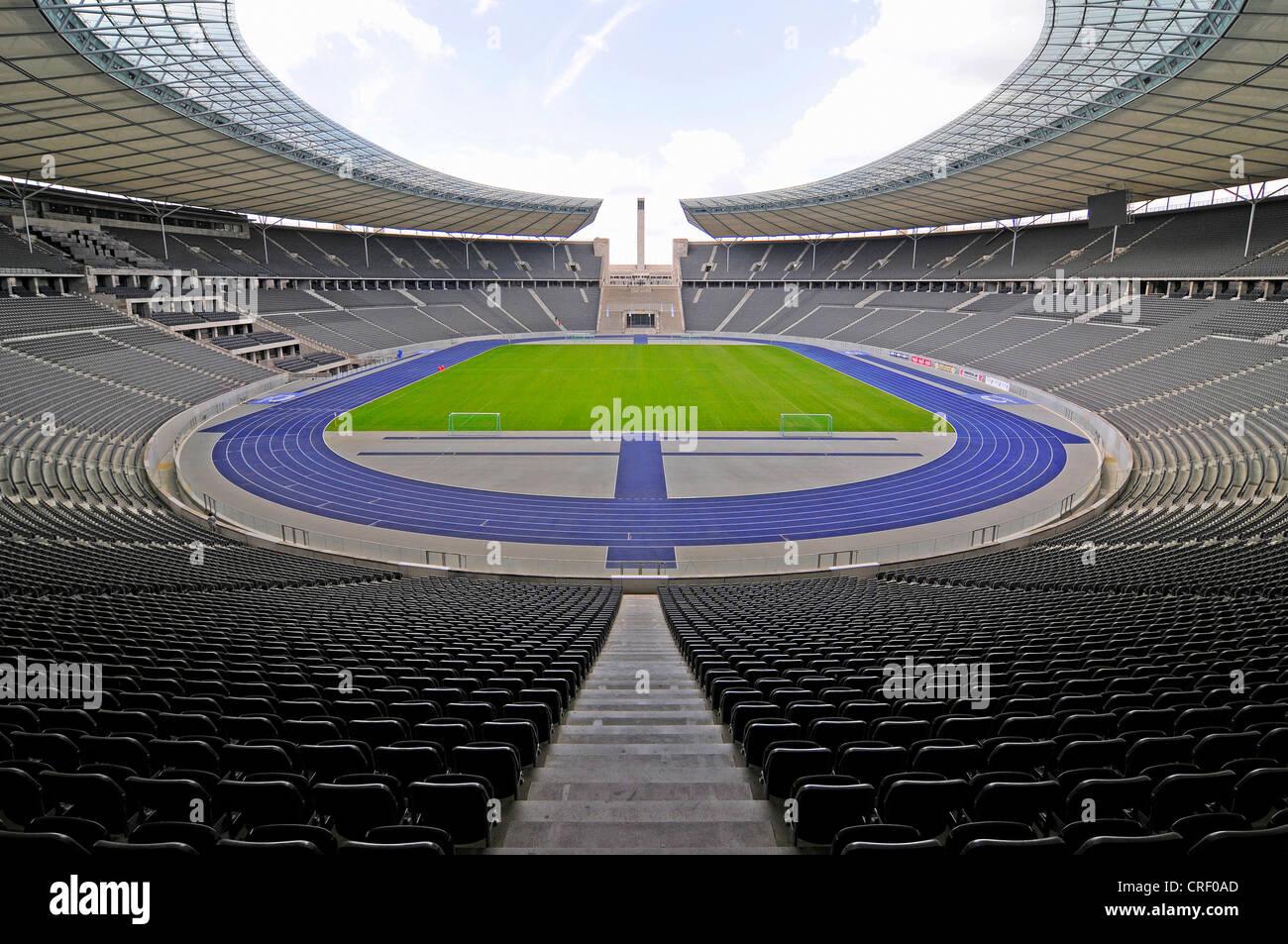 Olympiastadion, olympic stadion, Germany, Berlin - Stock Image