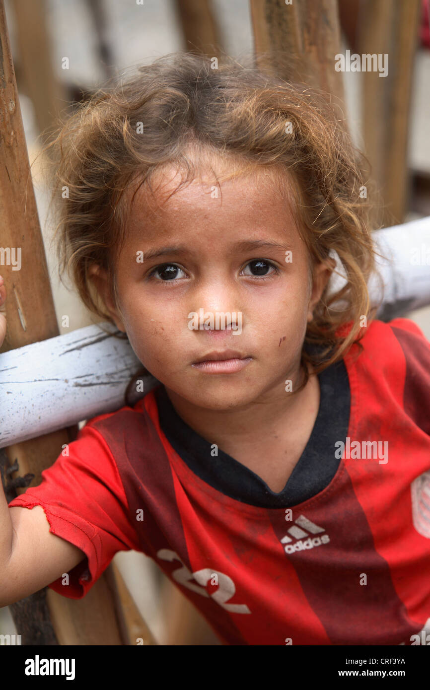 Young girl on Atauro Island. East Timor. - Stock Image