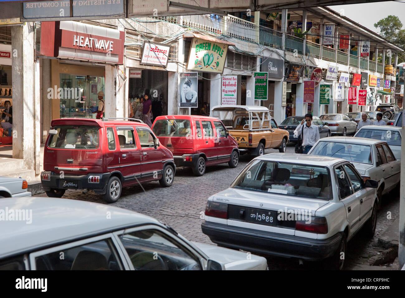 yangon car market