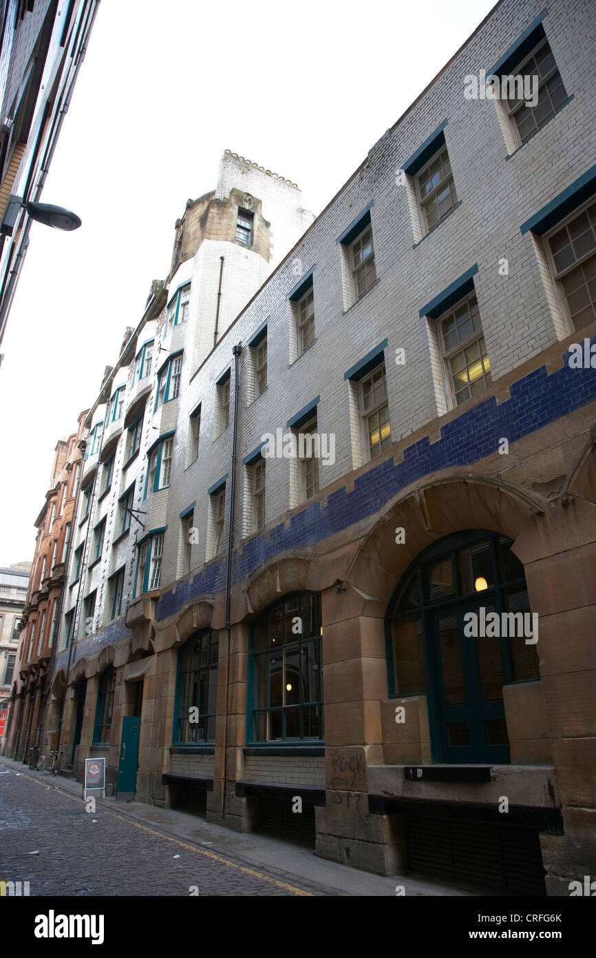 former daily record building designed by charles rennie mackintosh in renfield lane glasgow scotland uk - Stock Image