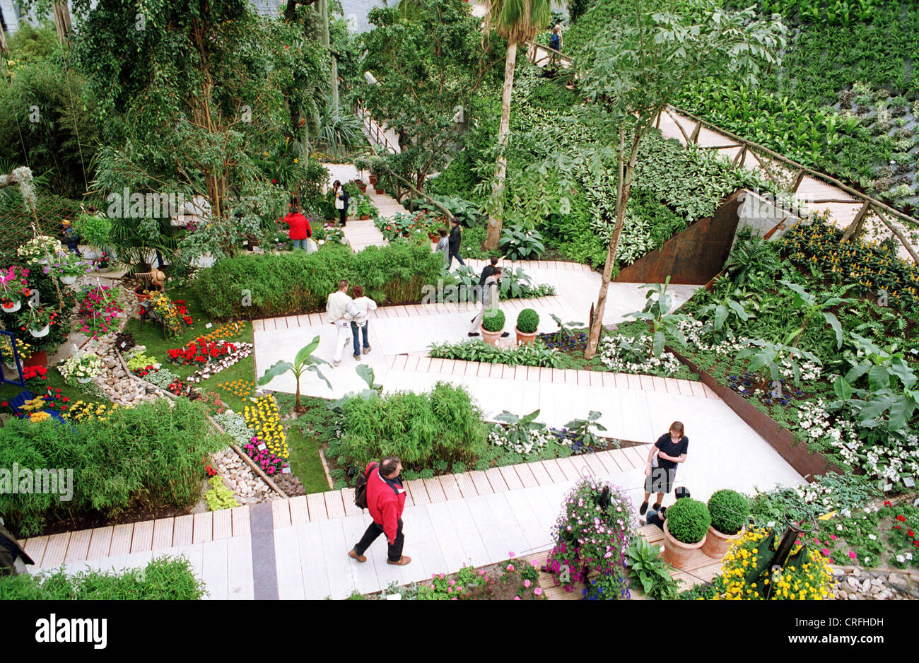 Potsdam, Germany, The Federal Horticultural Hall (National Garden Festival  Leeds 2001)