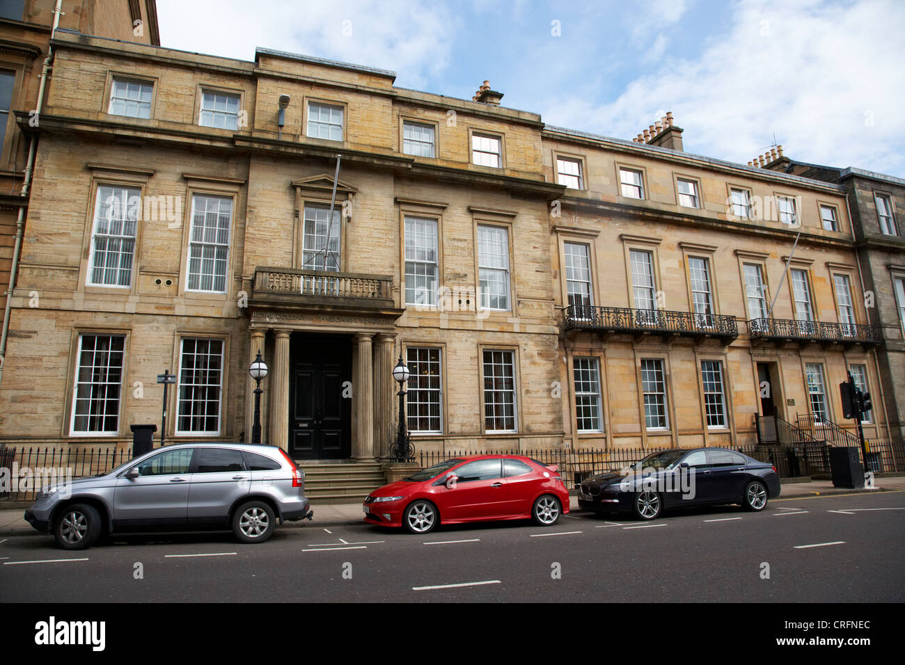 the royal college of physicians and surgeons 242 st vincent street glasgow scotland uk - Stock Image