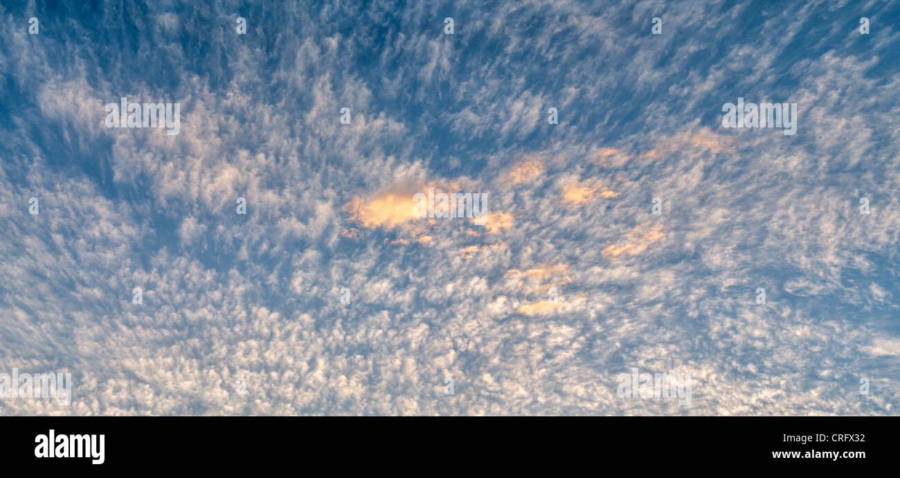 Clouds. Harris Beach State Park, Oregon - Stock Image