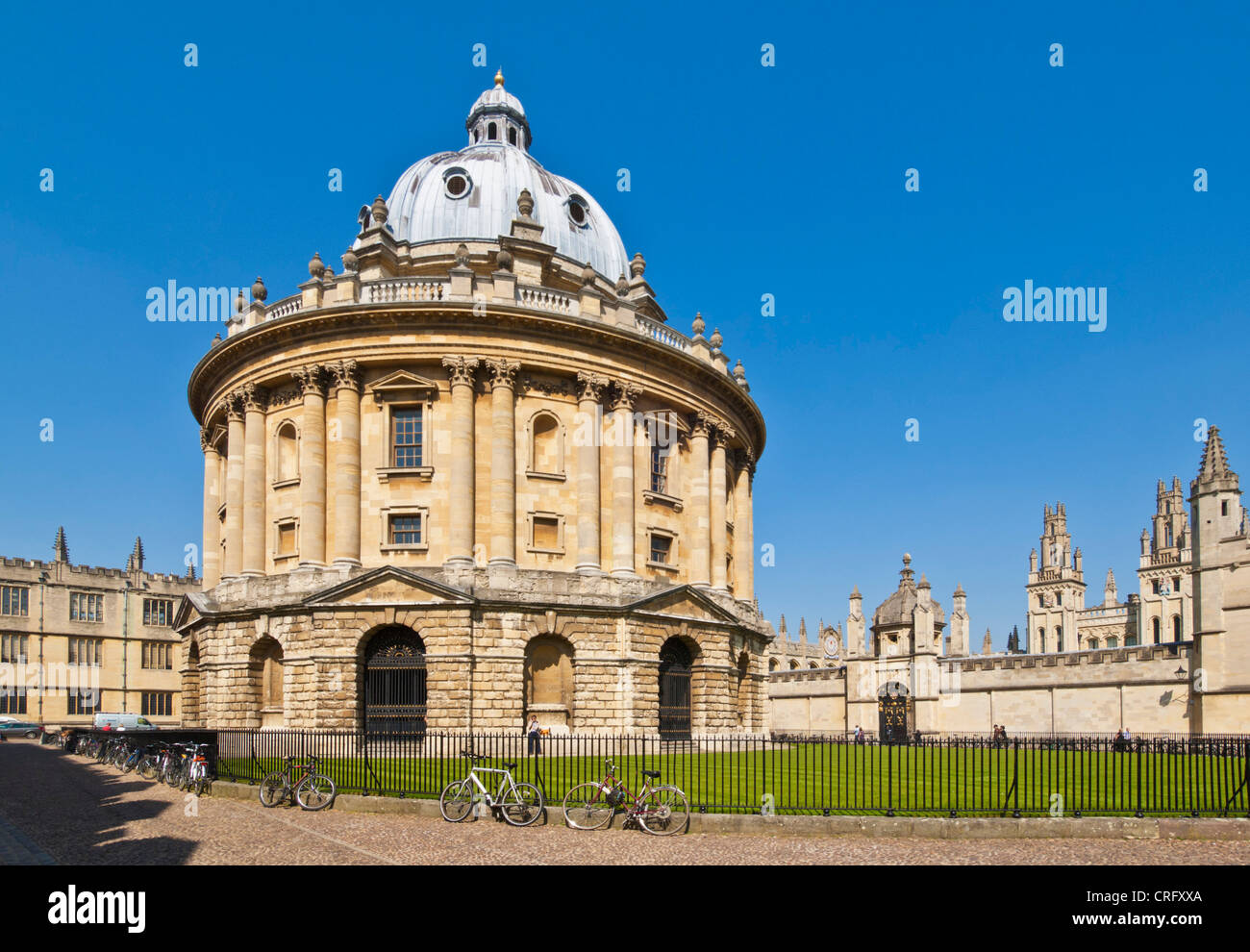 Radcliffe Camera  University city of Oxford, Oxfordshire, England uk gb europe - Stock Image