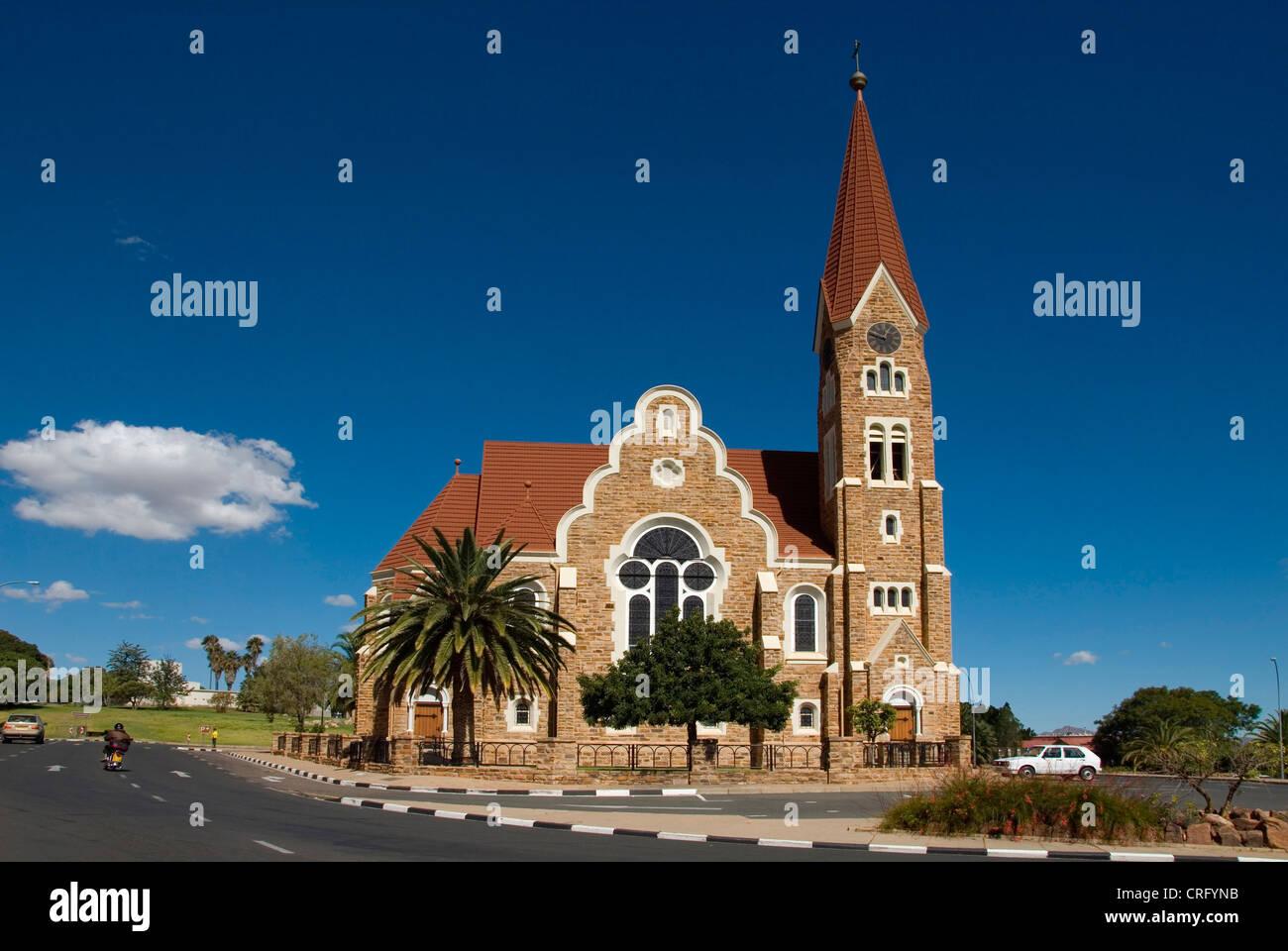 Christ Church in Windhoek, Namibia, Windhoek - Stock Image