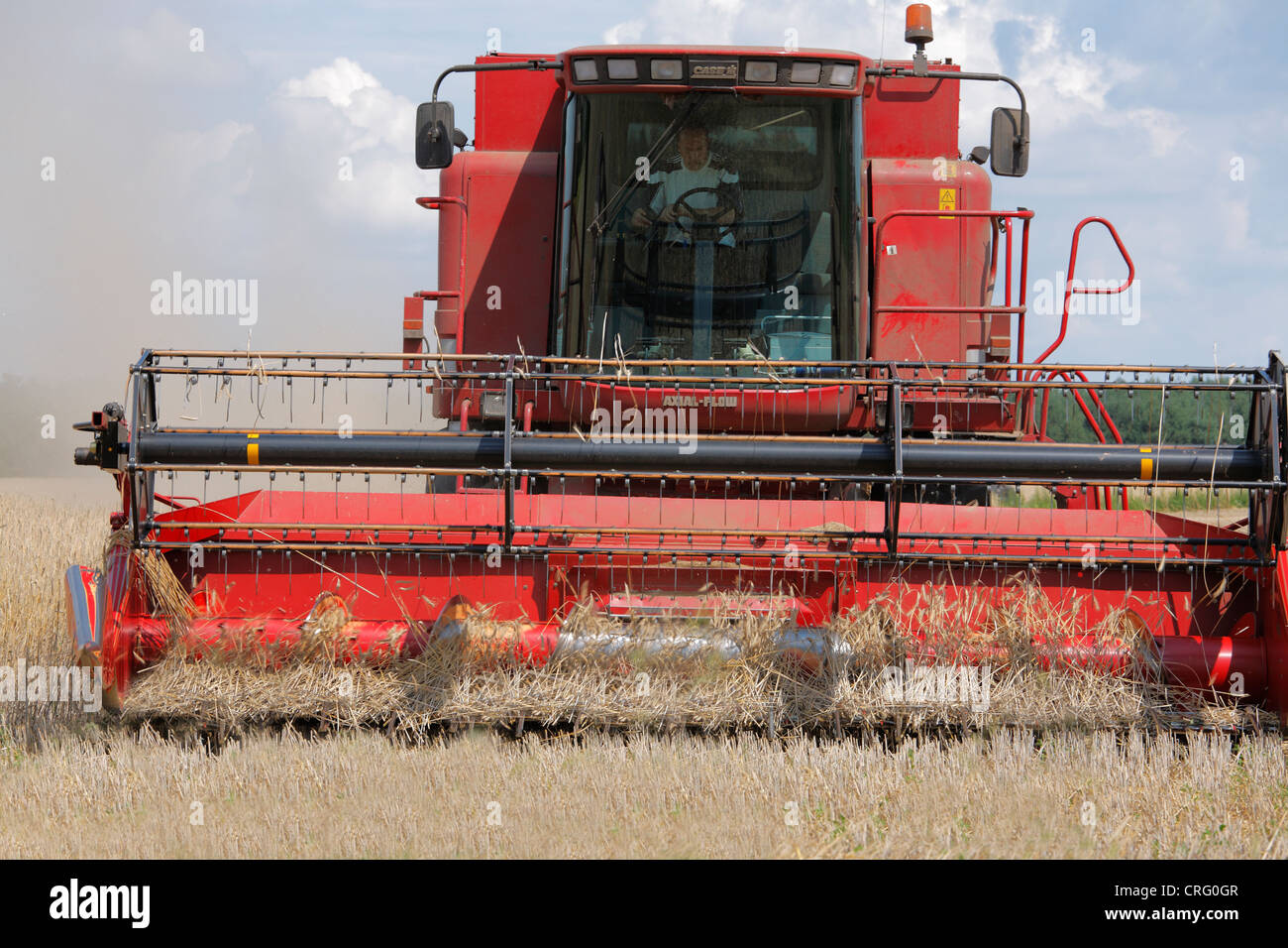 harvester Case Axial-Flow - Stock Image