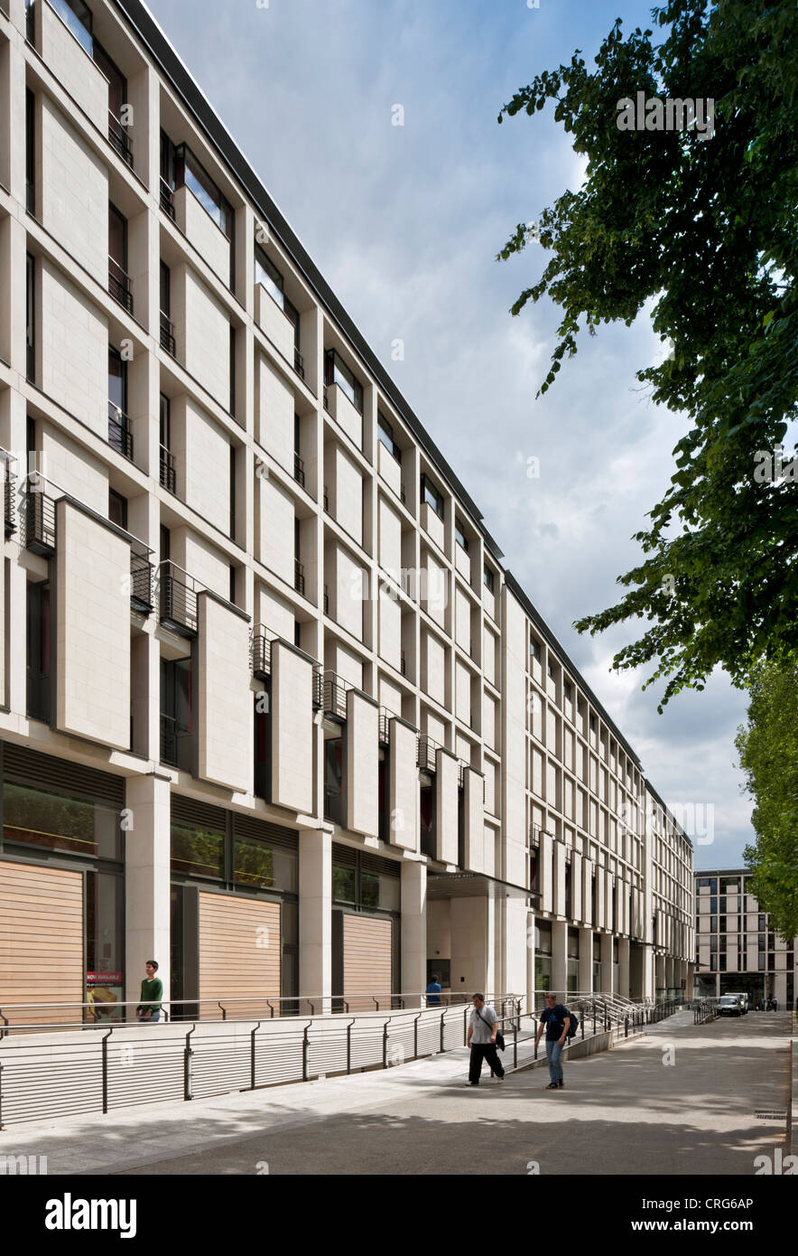 Wilkinson Hall at Prince's Gardens: Imperial College - winner of a 2011 Civic Trust Award - Stock Image