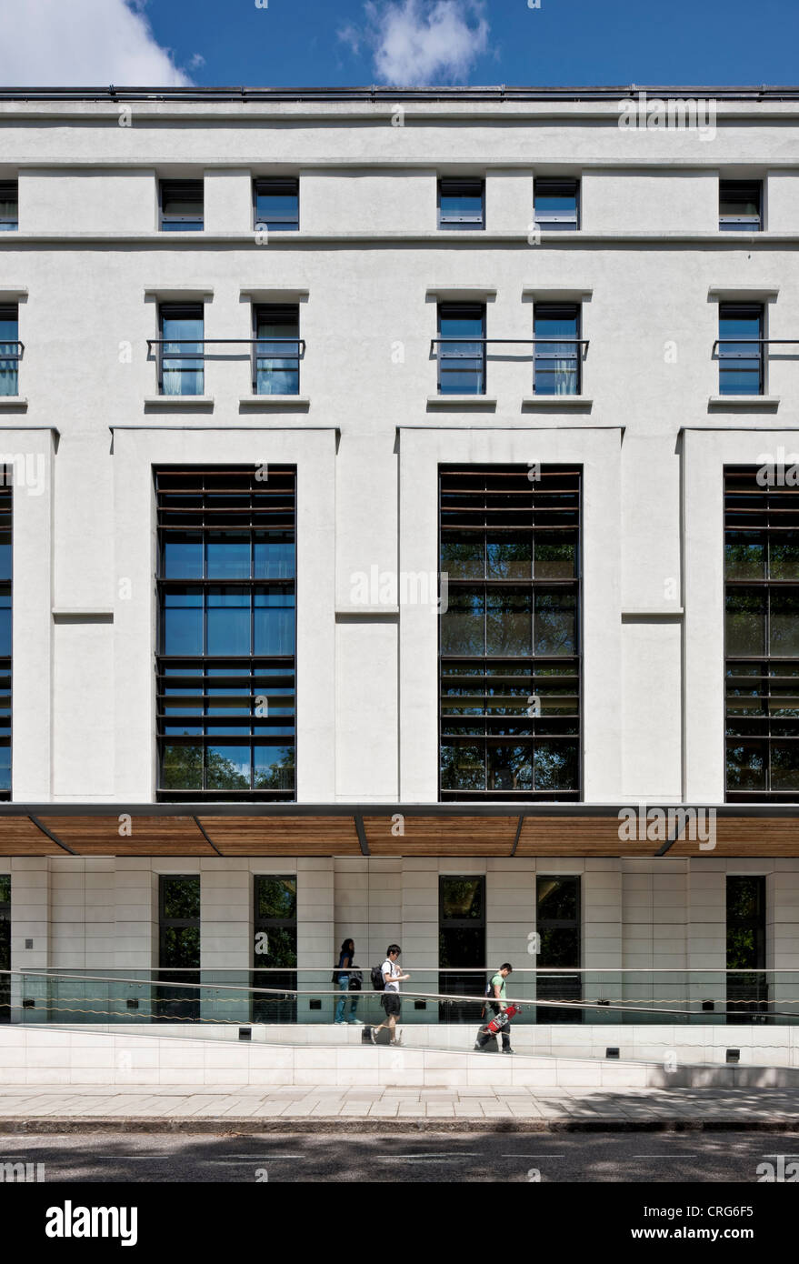 Ethos Sports Centre in Prince's Gardens: Imperial College - winner of a 2011 Civic Trust Award - Stock Image