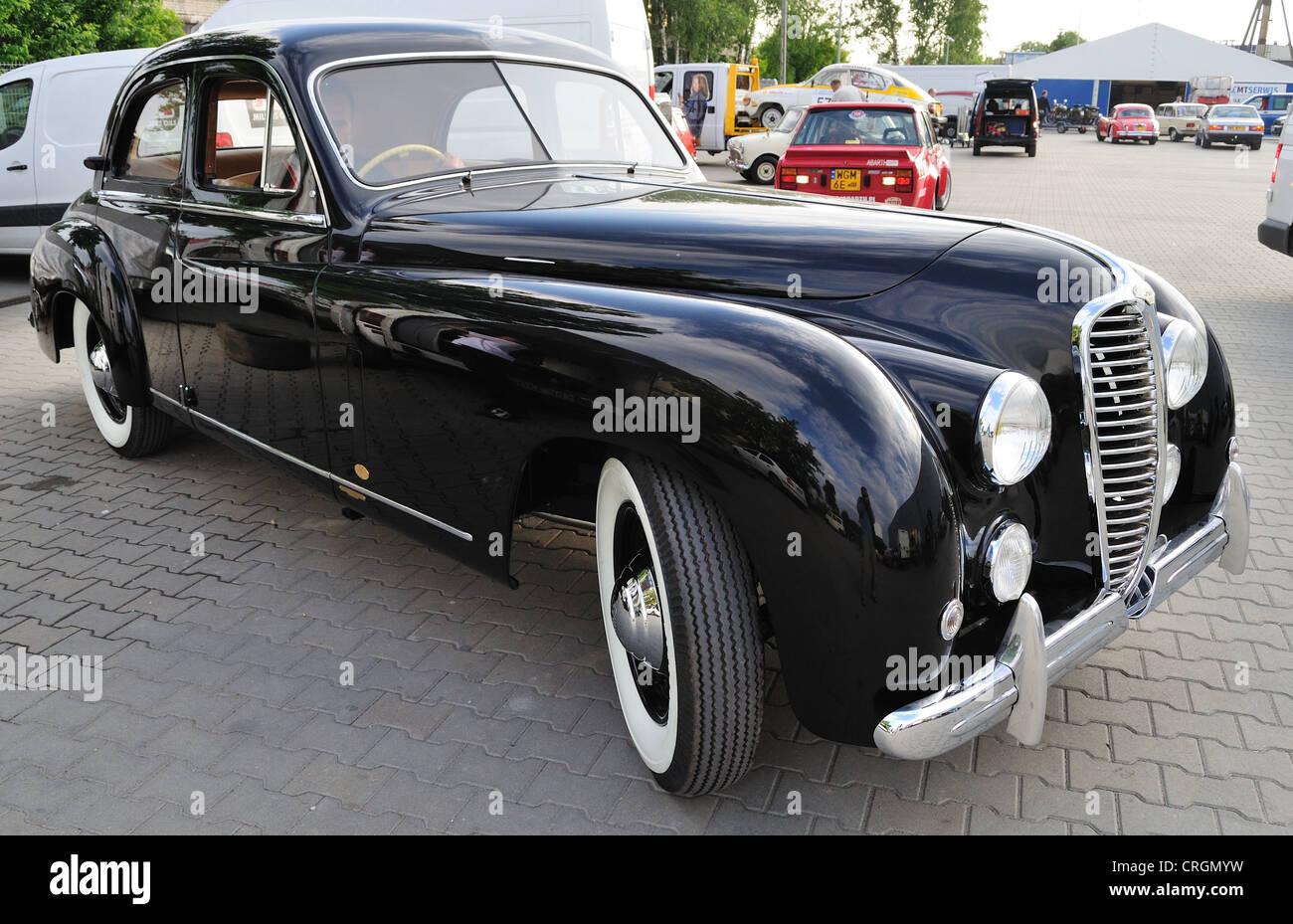 Vintage limousine - Delahaye - Stock Image