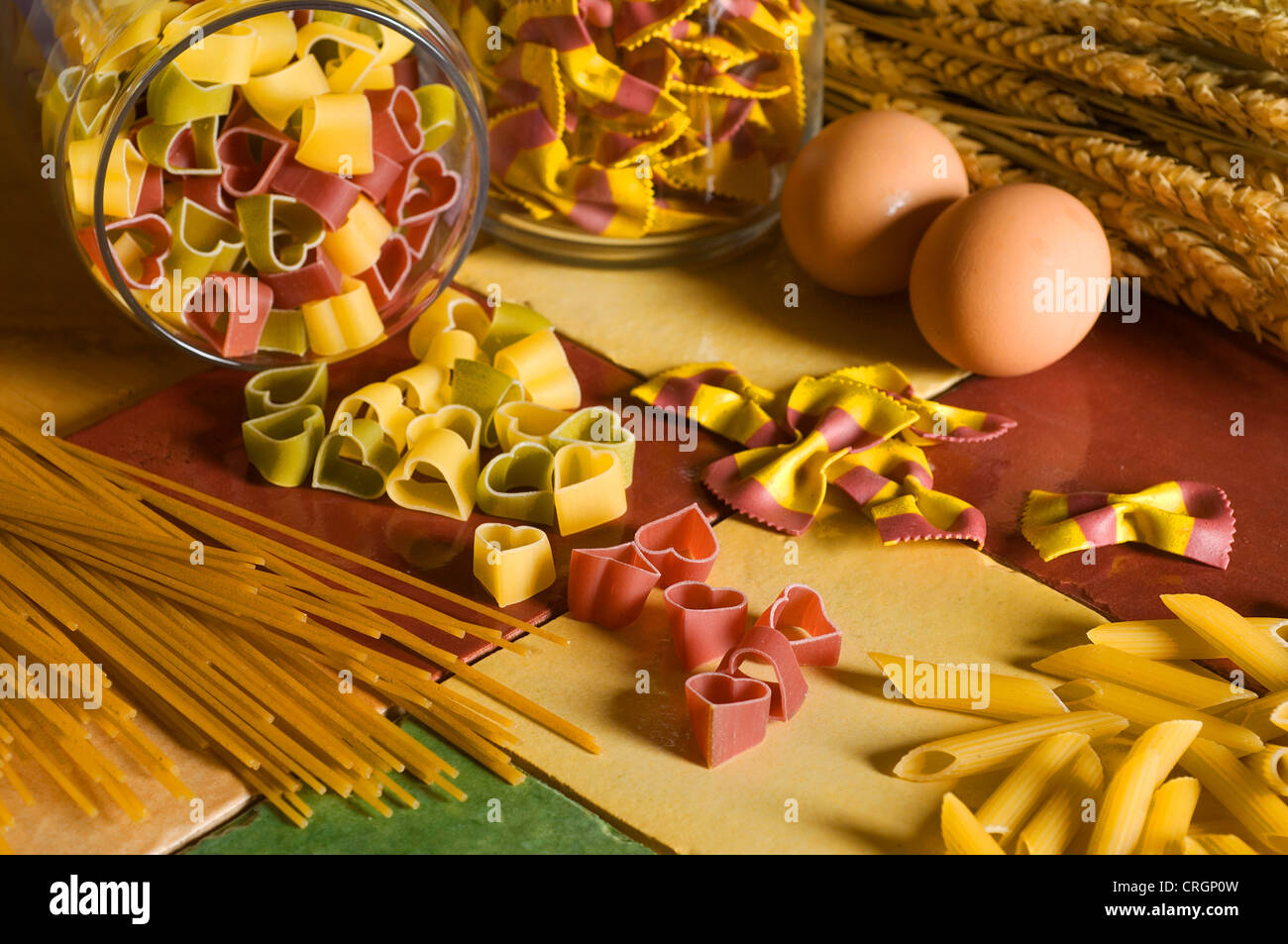 pasta from Italia - Stock Image