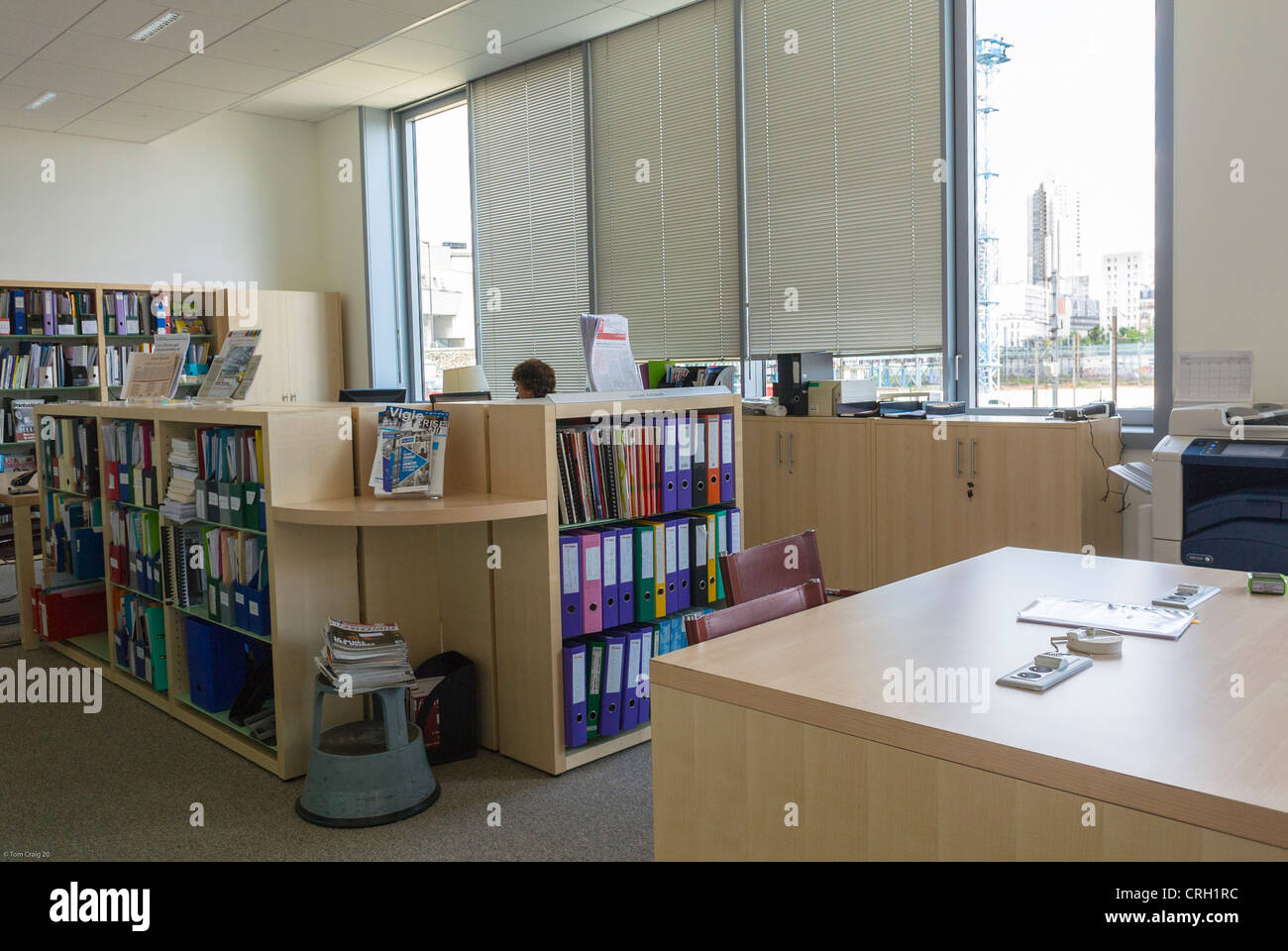 sustainable office furniture. Paris, France, Office Furniture, Work Area, In New Green Building, Sustainable Furniture