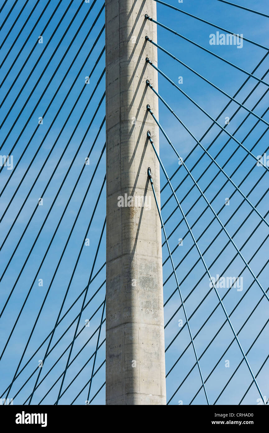 Indian River Inlet Bridge, Delaware, USA - Stock Image