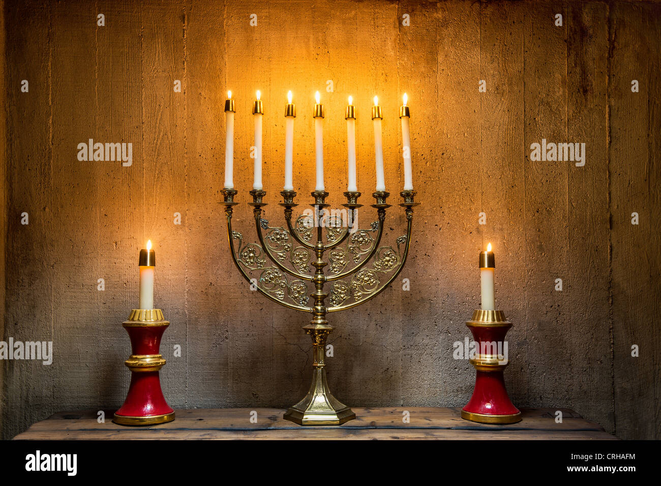 Menorah - Stock Image