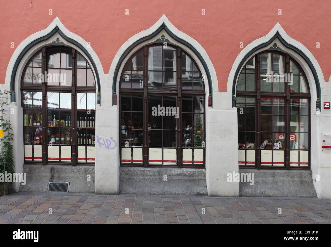 Markthalle, Winterthur, once the Scale shop where all goods were weighed - Stock Image
