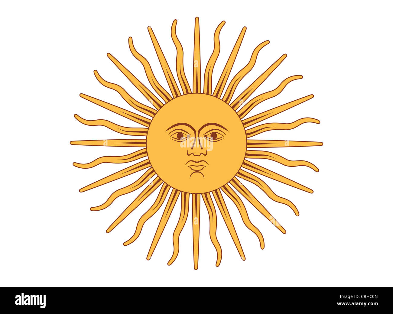 Inca Sun God Stock Photos Inca Sun God Stock Images Alamy