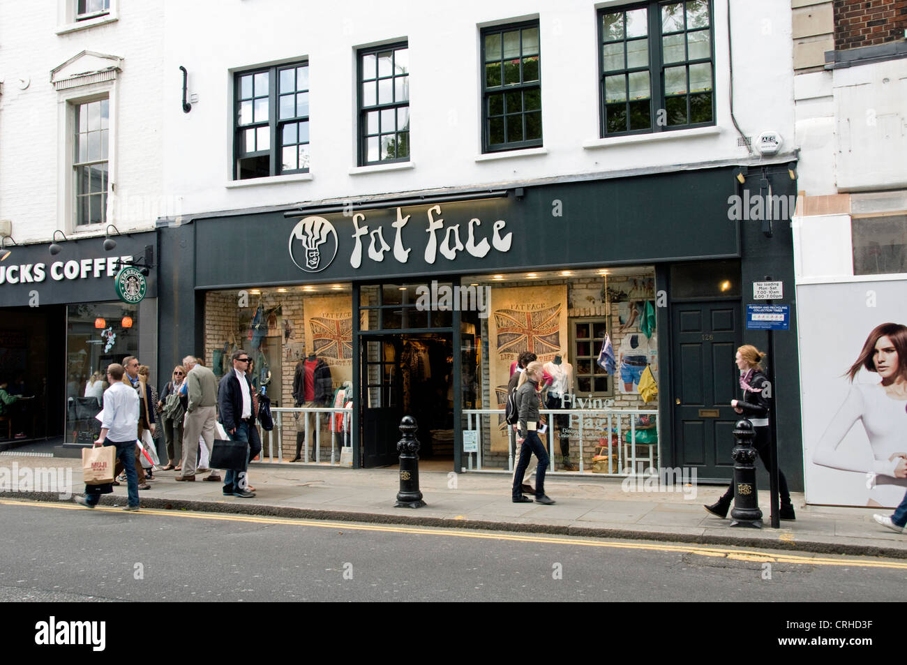 fat face shop in the King's Road Chelsea London England UK Stock