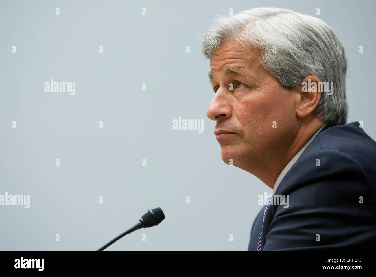 Jamie Dimon, chairman of the board, president and CEO of JPMorgan Chase & Co. - Stock Image