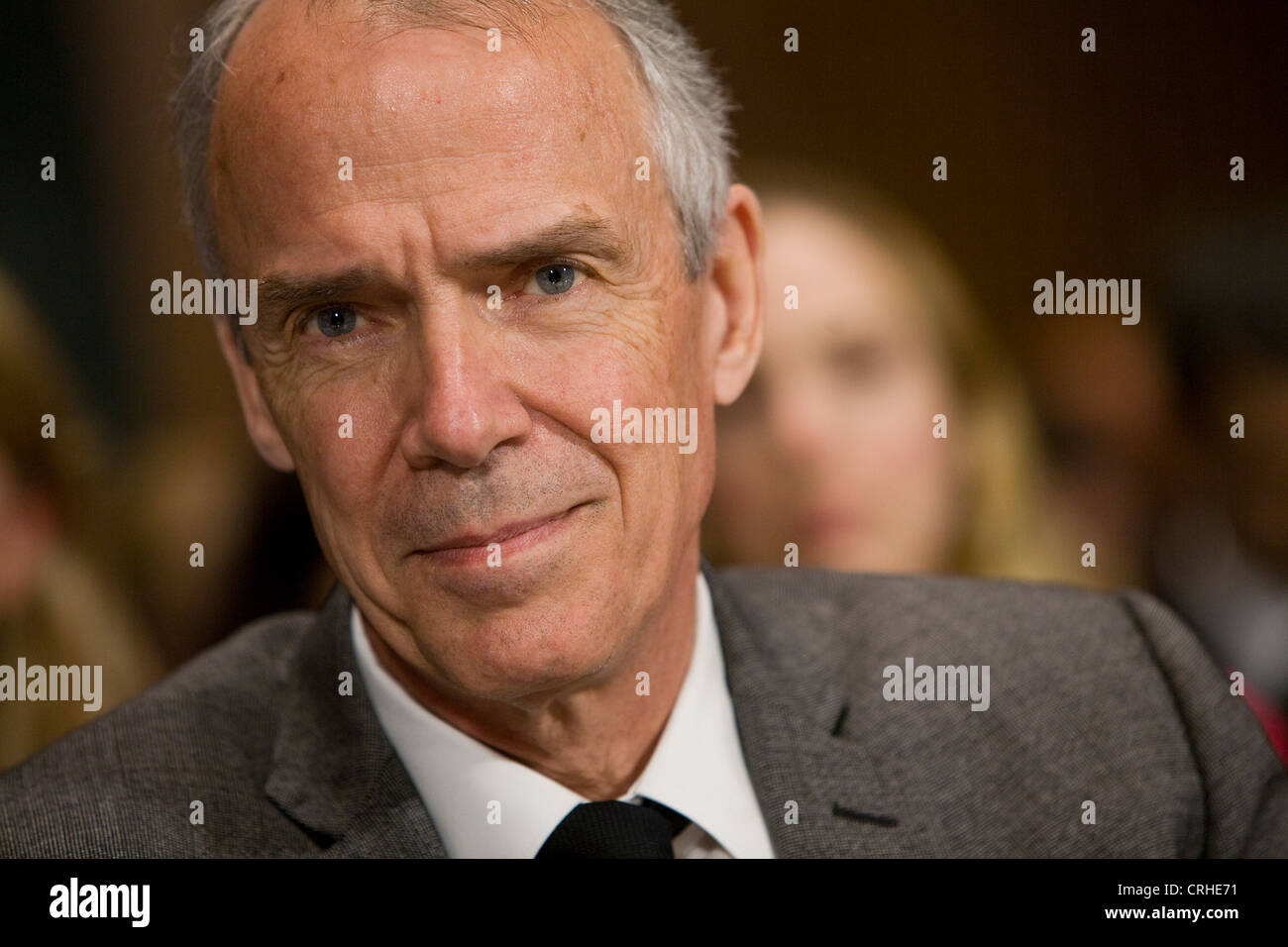 Roger Faxon, CEO of the record label EMI Group.  - Stock Image