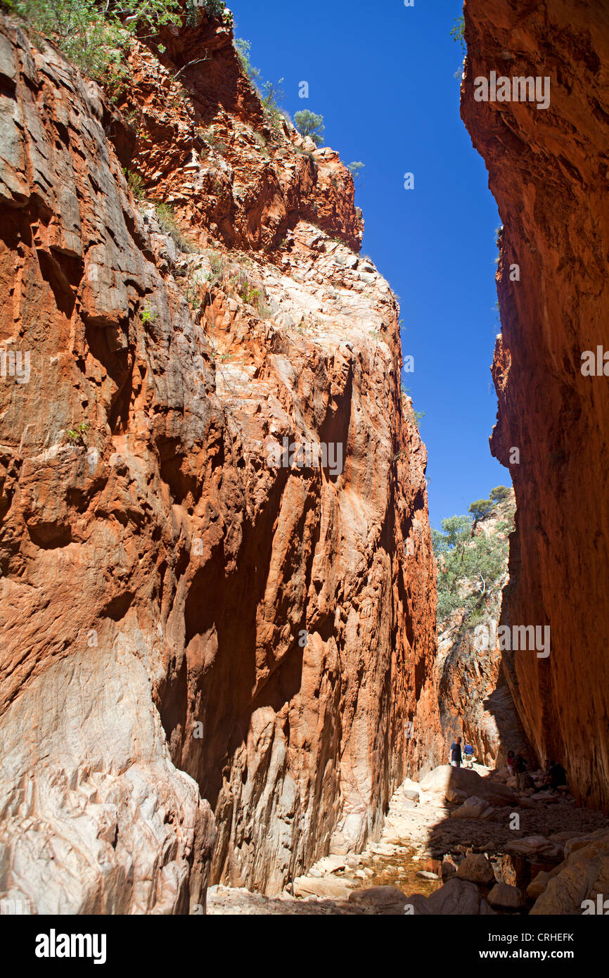 Standley Chasm in the West MacDonnell Ranges - Stock Image