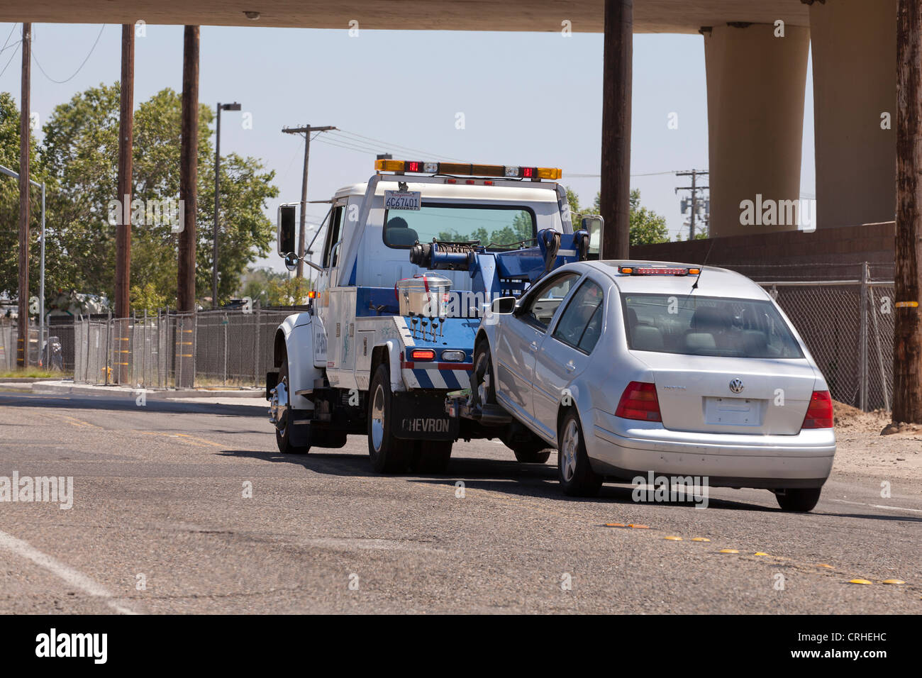 Car Being Towed High Resolution Stock Photography and Images - Alamy