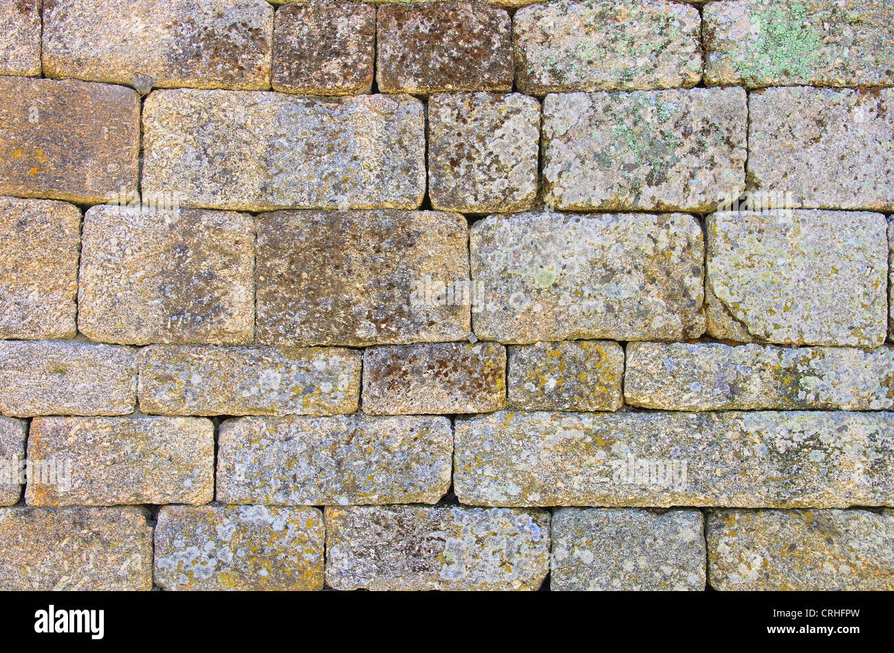 Mauer - wall 13 - Stock Image