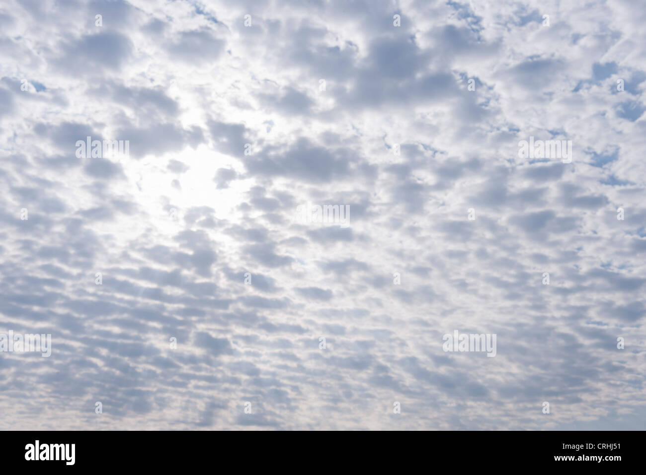 Overcast sky - Stock Image