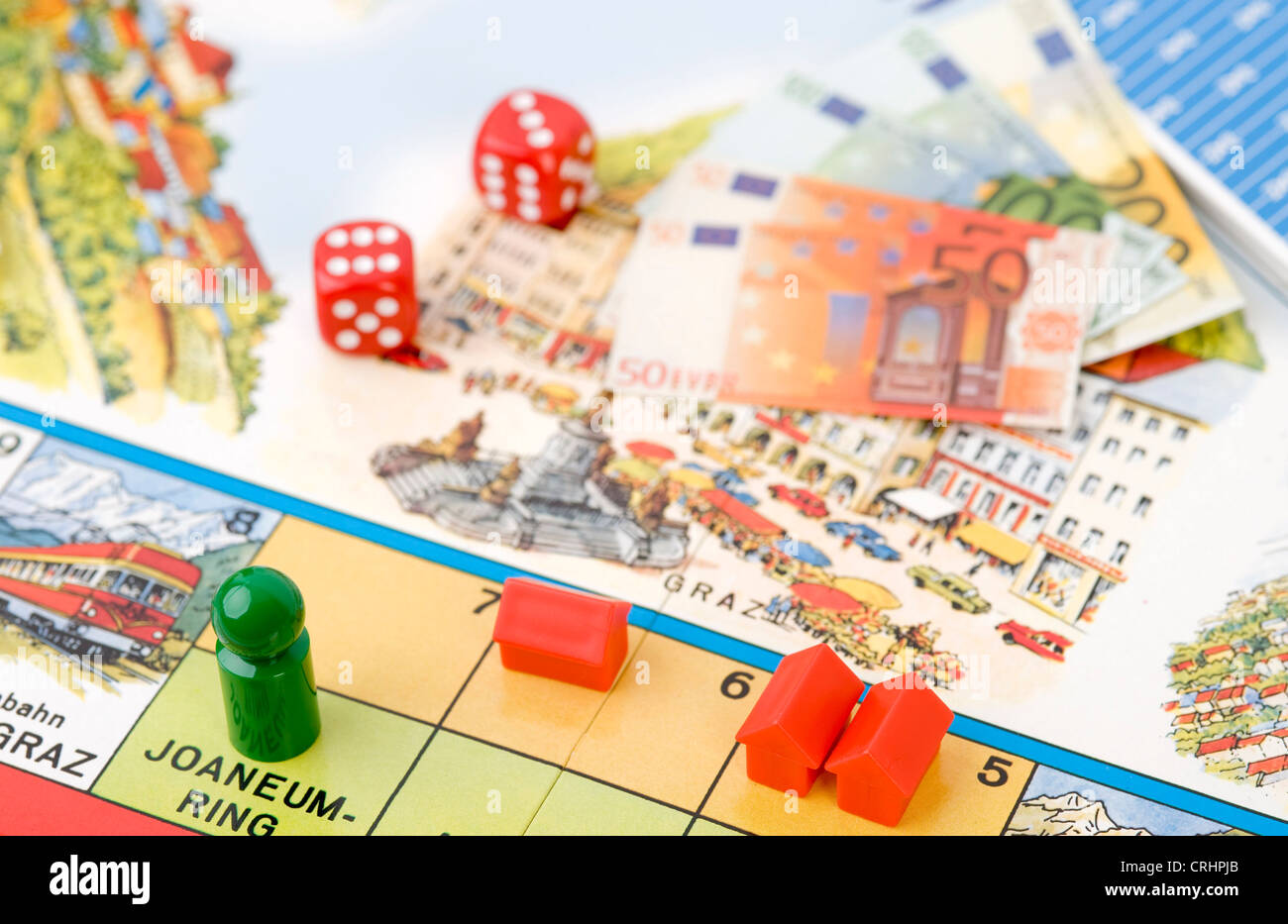 Board Game Dkt Austria Stock Photo 48948771 Alamy Circuit Games