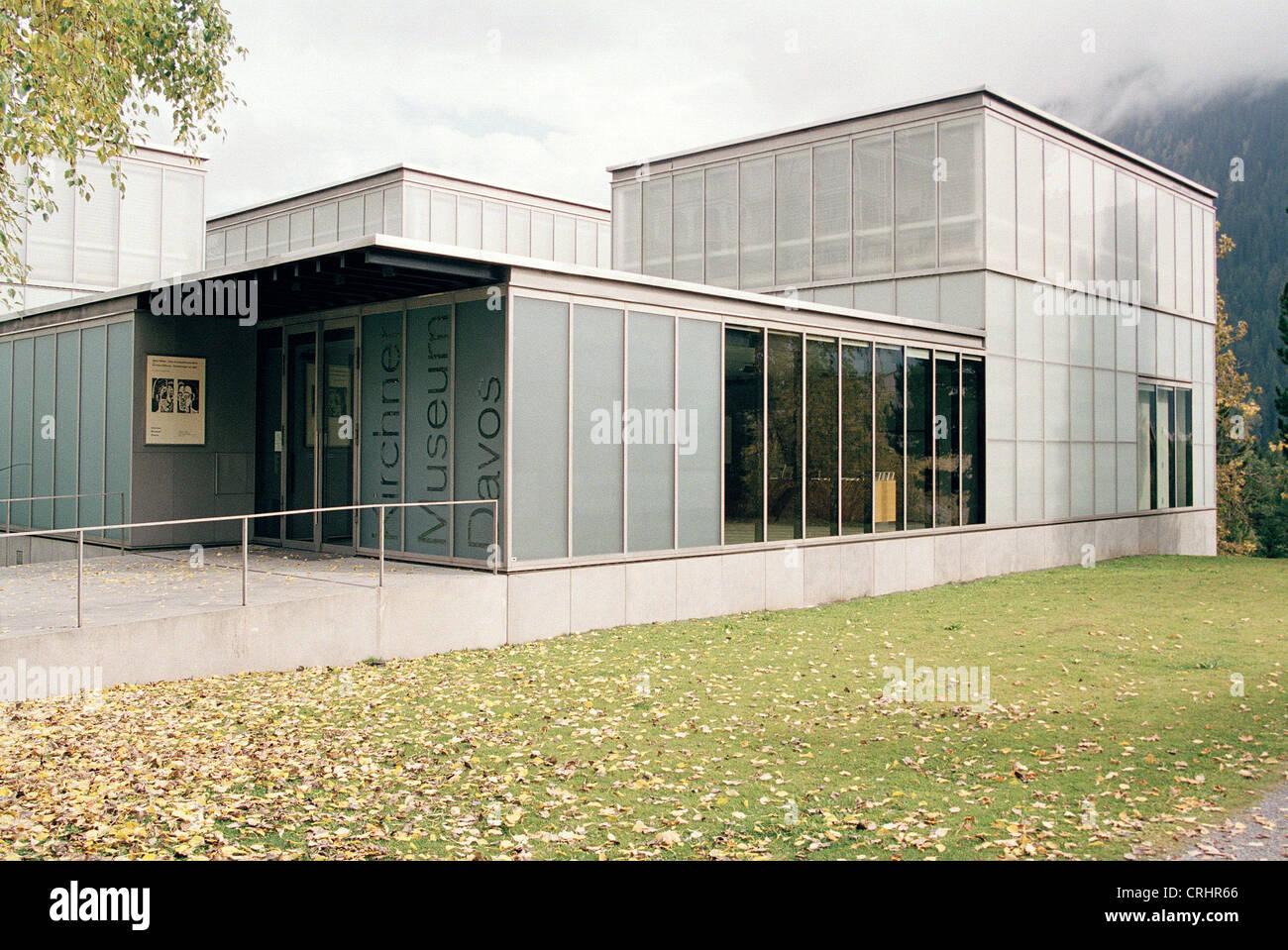 Davos, Switzerland, Ernst Ludwig Kirchner Museum - Stock Image