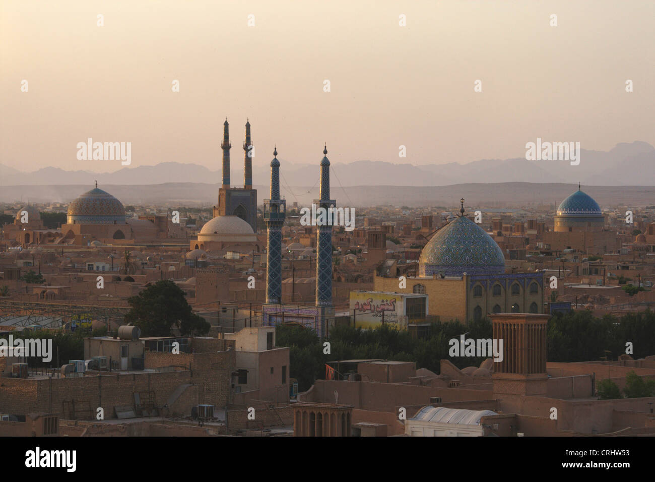 cityview of Yazd, Iran, Yazd - Stock Image