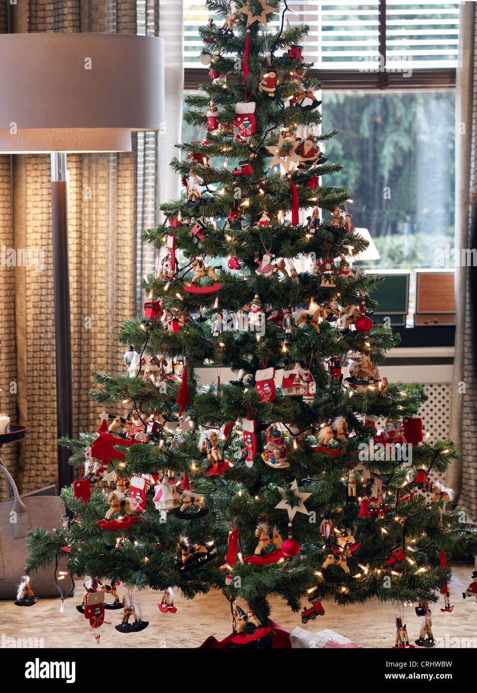 German Christmas Tree.German Christmas Tree Stock Photos German Christmas Tree
