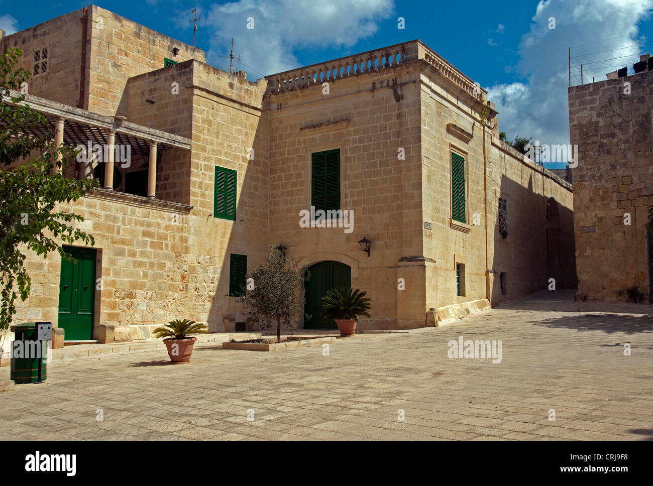 street and houses from stone in the old city of malta valetta stock rh alamy com