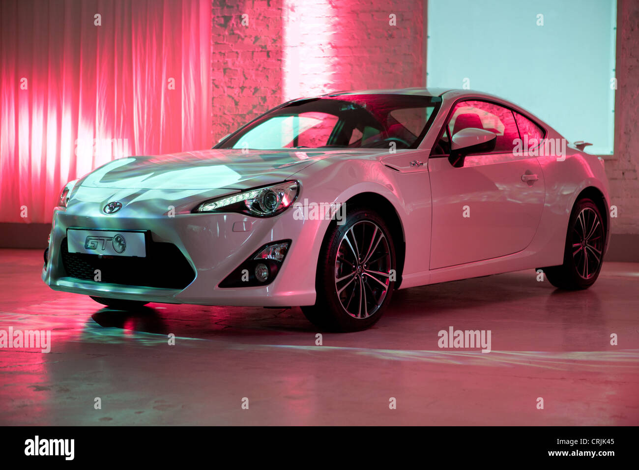Brand New Toyota Sports Car, GT86, Model Year 2012   Stock Image