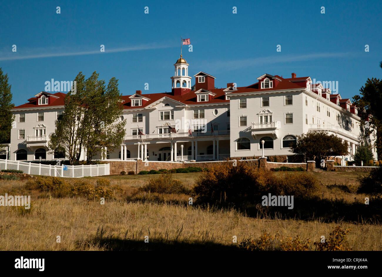 North America, USA, Colorado, Estes Park, Stanley Historic Site - Stock Image