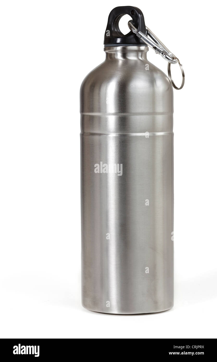 Reusable water bottle, isolated - Stock Image
