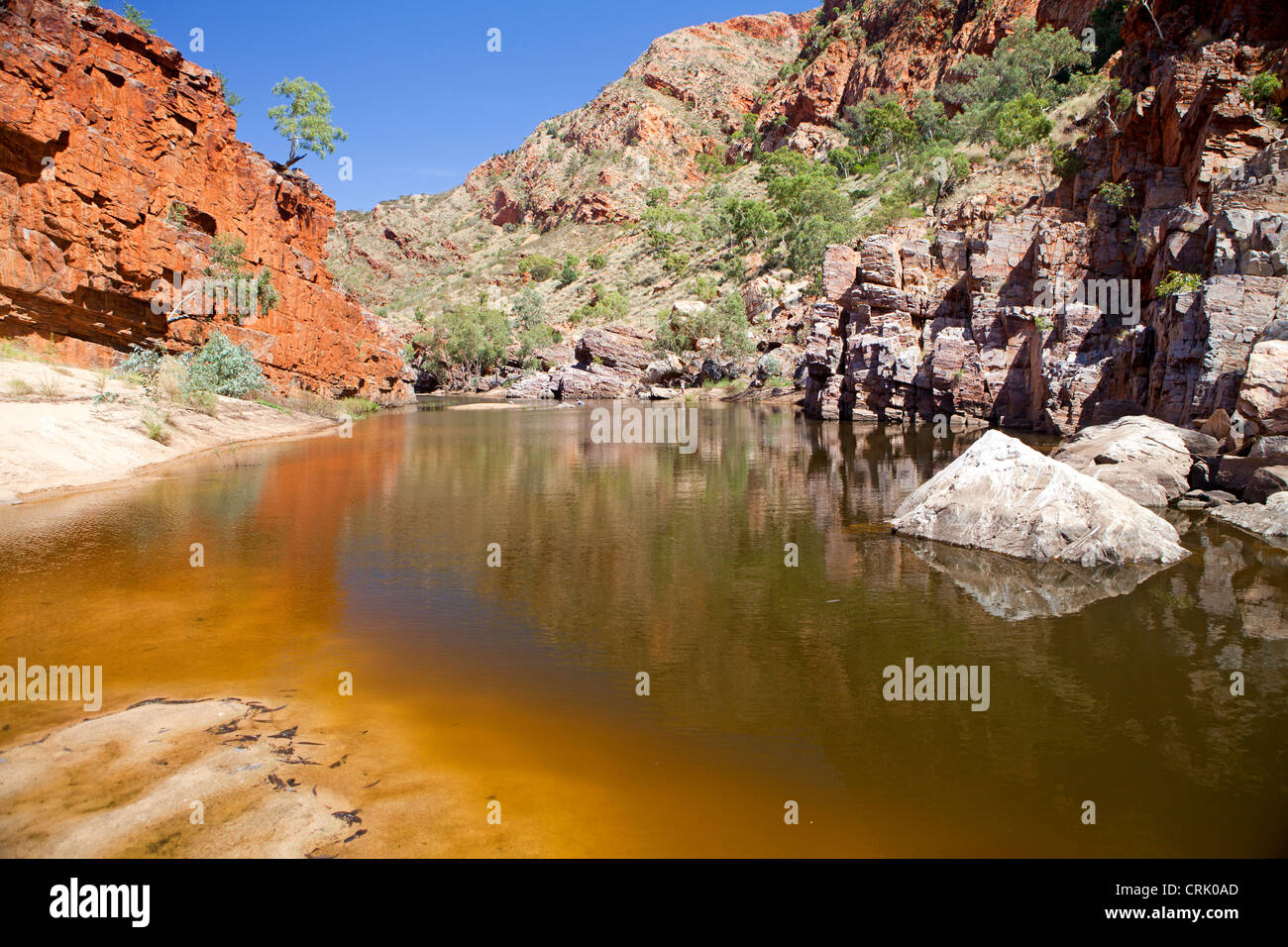 Ormiston Gorge in the West MacDonnell Ranges - Stock Image