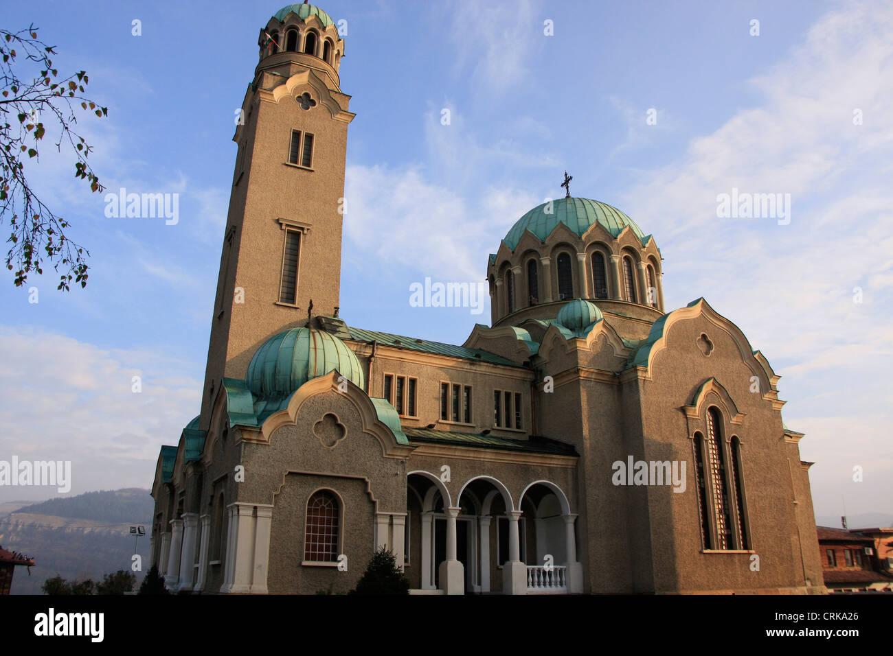 Cathedral of the Birth of the Theotokos, Veliko Tarnovo, Bulgaria Stock Photo