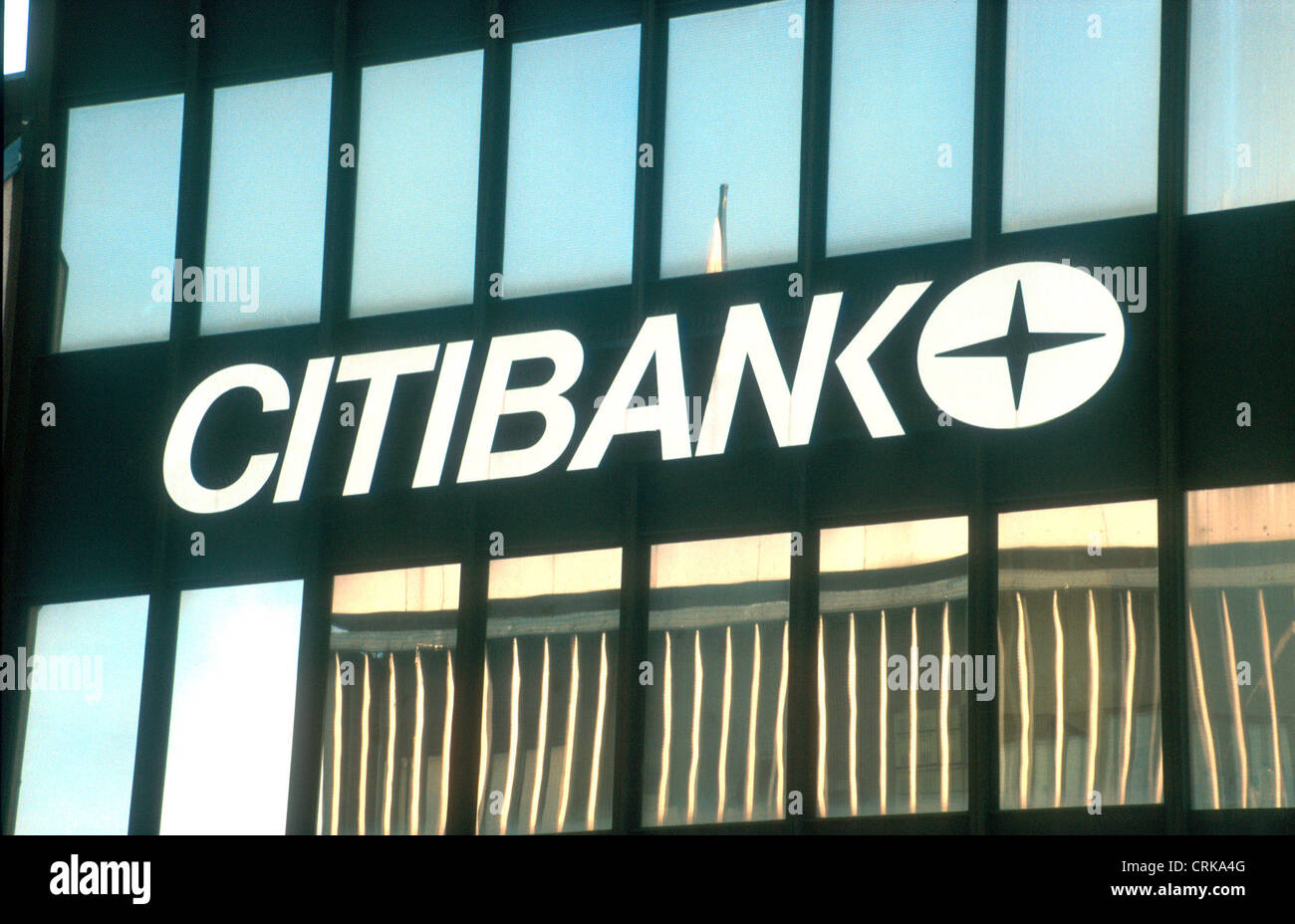 Logo of Citibank in London Stock Photo: 48982880 - Alamy