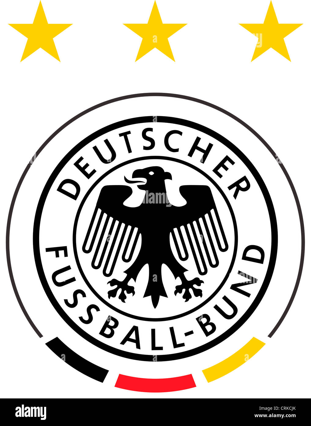 Logo of the German's national football team. - Stock Image